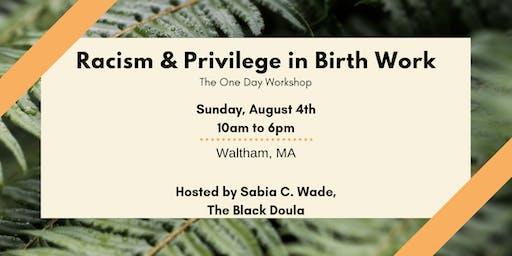 Racism & Privilege in Birth Work Workshop