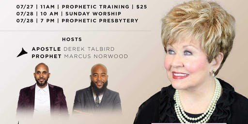 Living Word Memphis presents Prophetic Training Workshop w/Dr. Mary Crum
