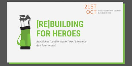 [Re]Building for Heroes 9th Annual Golf Tournament tickets