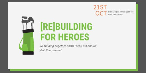 [Re]Building for Heroes 9th Annual Golf Tournament