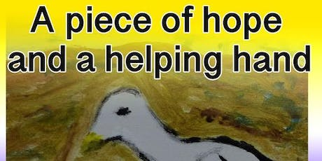 A piece of hope and a helping hand tickets