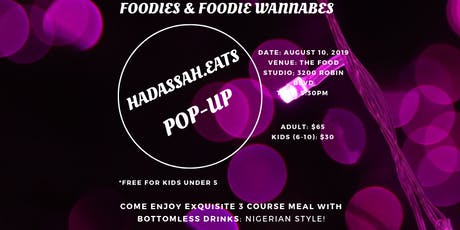 HadassahEats Pop-Up tickets
