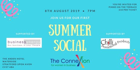 Connexions Summer Social tickets