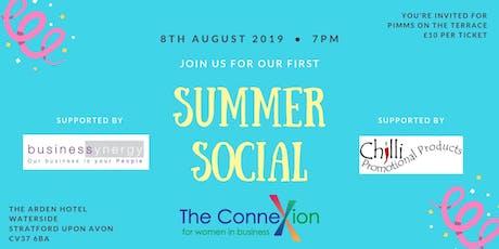 Connexions Summer Social tickets