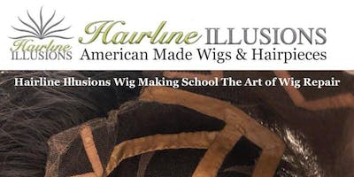 Hairline Illusions WIG PRO CLASS *Learn How To Repair Lace and Thinskin (PU) Wigs & Hairpieces: Toppers, Toupees, Wigs