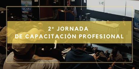 2° JORNADA DE CAPACITACIÓN PROFESIONAL entradas