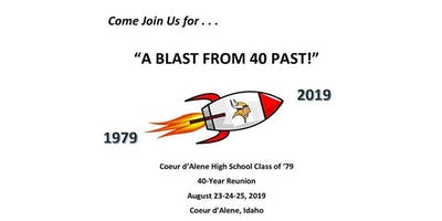 CDA High Class of 79 40-Year Reunion Fair Fun Day Unlimited Carnival Passes