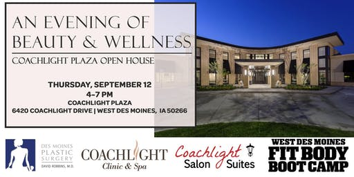 An Evening of Beauty & Wellness: Coachlight Plaza Open House