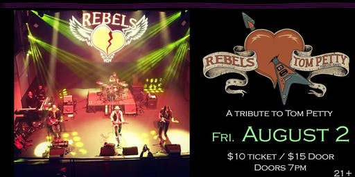 Rebels (Tom Petty Tribute) at Soundcheck Studios