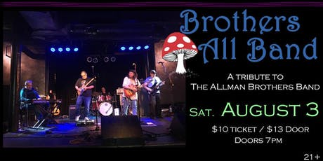 Brothers All Band (The Allman Brothers Band Tribute) at Soundcheck Studios tickets