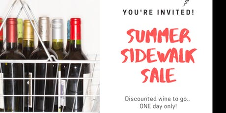 WINE SALE tickets