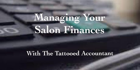 Managing your Salon Finances tickets