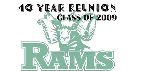 10 YEAR RAM REUNION LCHS c/o 2009 tickets