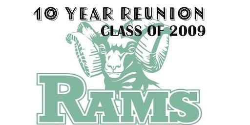 10 YEAR RAM REUNION LCHS c/o 2009