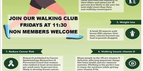 Ck Healthy Walks tickets