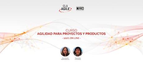 CURSO AGILE I: Agilidad para proyectos y productos entradas