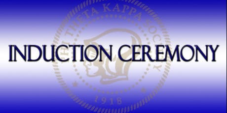 PTK New Member Spring 2020 Induction Ceremony tickets