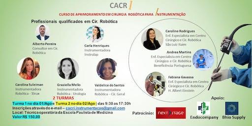 Curso de Aprimoramento em Cir. Robótica para Instrumentação