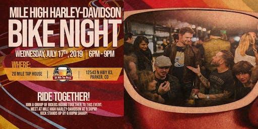 Mile High Harley-Davidson Bike Night