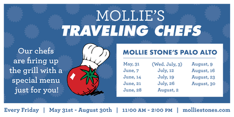Annual Traveling Chefs BBQ at Mollie Stone's Markets Palo Alto tickets