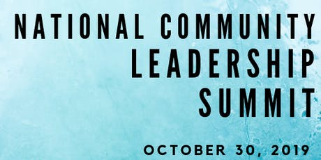 2019 National Community Leadership Summit tickets