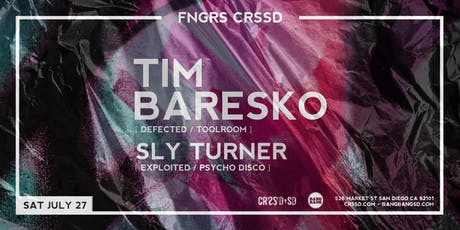 TIM BARESKO + SLY TURNER tickets