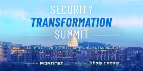 Security Transformation Summit 2019 tickets