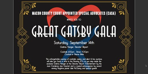 Macon County CASA Great Gatsby Gala