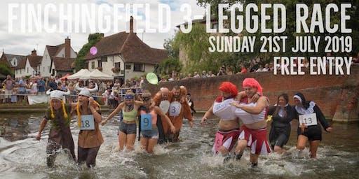 Finchingfield 3-Legged Race