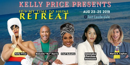 "Kelly Price Presents ""It's My Time To Shine Wellness Retreat"""