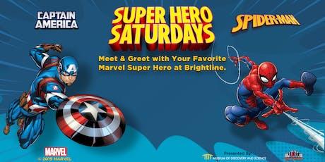 Superhero Saturdays - Meet & Greet Marvel Superheroes! tickets