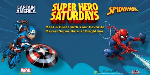 Superhero Saturdays - Meet & Greet Marvel Superheroes!