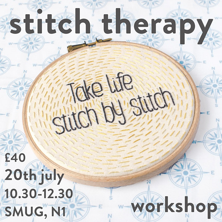 Stitch Therapy Workshop image