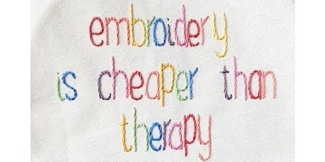 Stitch Therapy Workshop tickets
