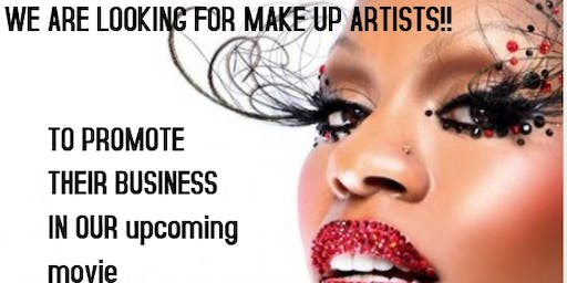 make up artists needed