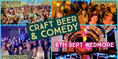 Craft Beer and Comedy Special - Wedmore Hall