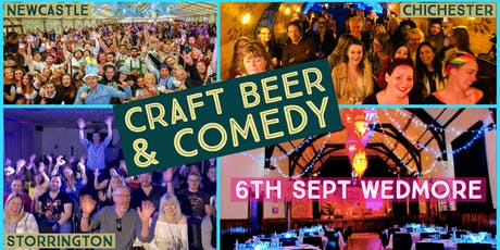 Craft Beer and Comedy Special - Wedmore Hall tickets