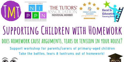 Supporting primary-aged children with homework: Parents Workshop