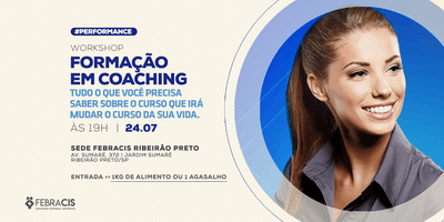 [RIBEIRÃO PRETO/SP] Workshop - Formação em Coaching 24/07