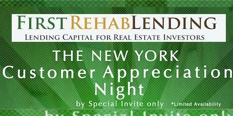 First Rehab Lending Customer Appreciation Night tickets