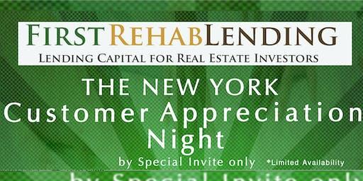 First Rehab Lending Customer Appreciation Night