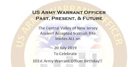 US Army Warrant Officers 101st Birthday Party tickets