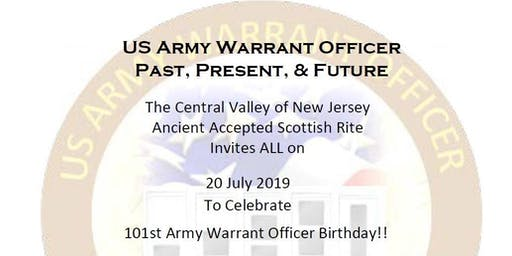 US Army Warrant Officers 101st Birthday Party