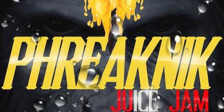 PHREAKNIK (OUTDOOR JUICE JAM): GET WET EDITION tickets