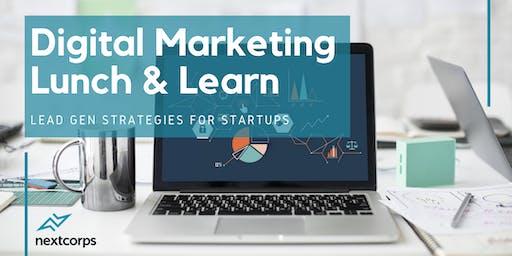 Digital Marketing Lunch & Learn: Lead Gen Strategies for Startups
