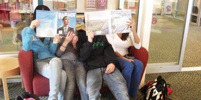 Silent Reading Party for Teens @ Main