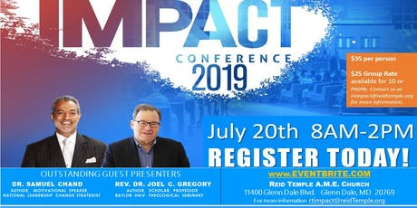 2019 IMPACT CONFERENCE @ Reid Temple tickets