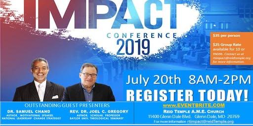 2019 IMPACT CONFERENCE @ Reid Temple