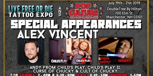 LFOD Tattoo Expo Special Autograph Appearance- Vincent Ward