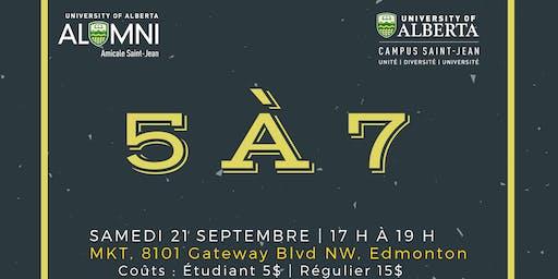 Alumni Weekend : 5 à 7 du Campus Saint-Jean